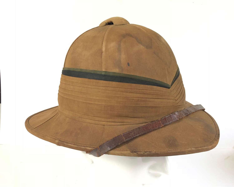 WW1 Interwar Period Regimental Wolseley Pattern Foreign Service Helmet