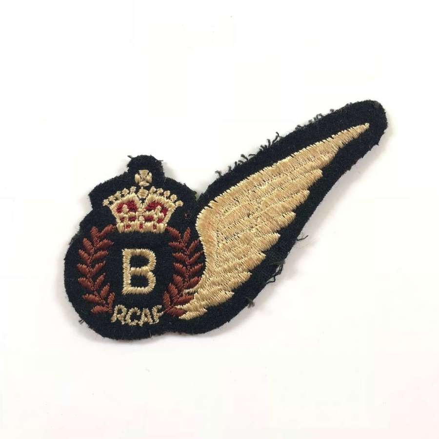 WW2 RCAF Bomb Aimer Brevet.