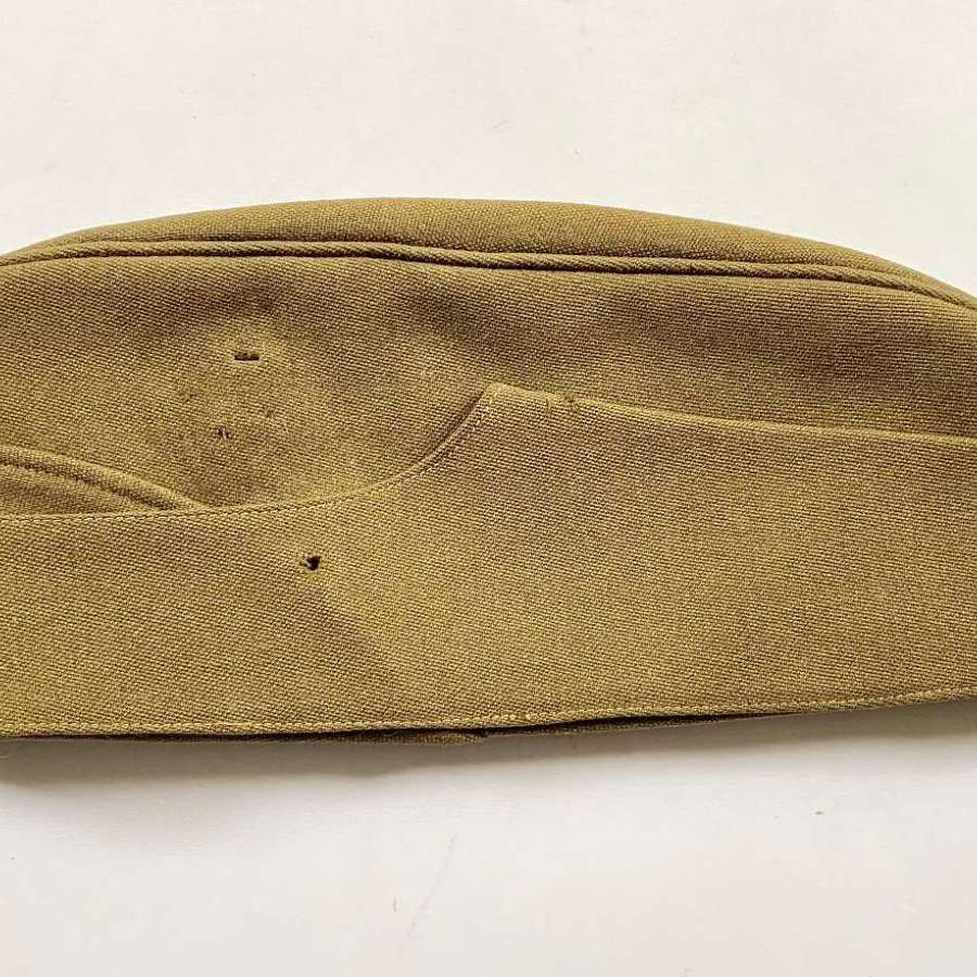 WW2 Period British Army Officer's Field Service Side Cap.