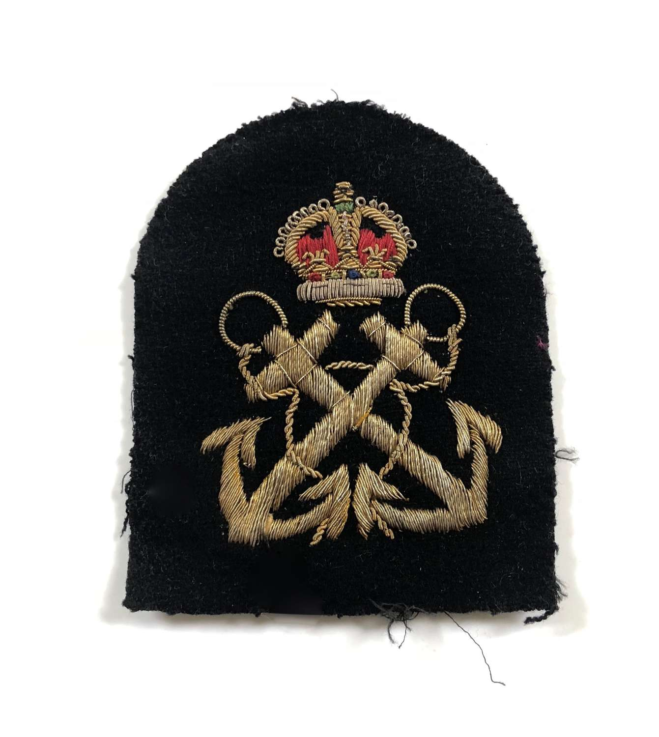 WW2 Period Royal Navy Petty Officer Sleeve Badge