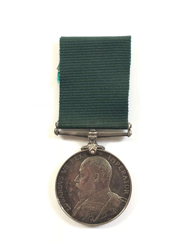 5th (Haytor) VB Devonshire Regiment Edwardian Volunteer Force Medal