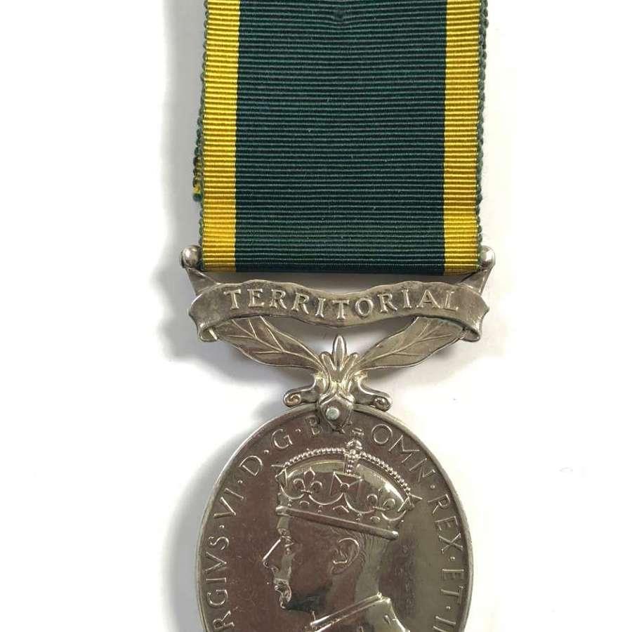 4th Bn King's Own Yorkshire Light Infantry KOYLI Territorial Medal