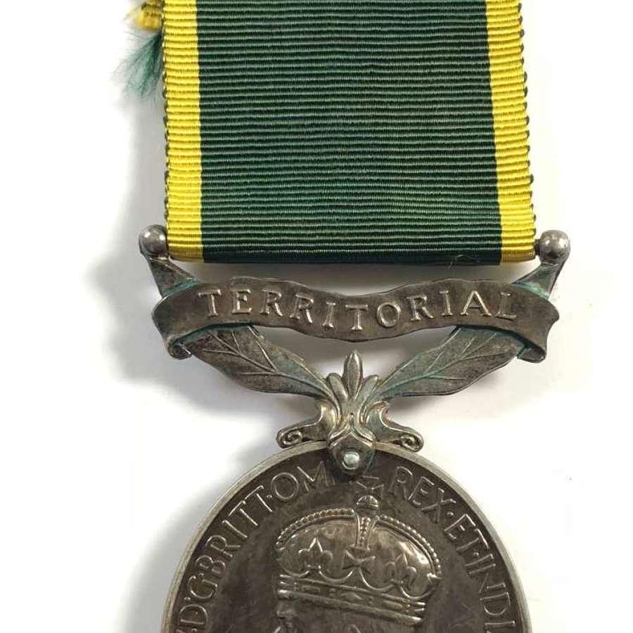 5th Bn King's Own Yorkshire Light Infantry KOYLI Territorial Medal