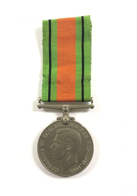 WW2 Royal Navy Army Royal Air Force Defence Medal.