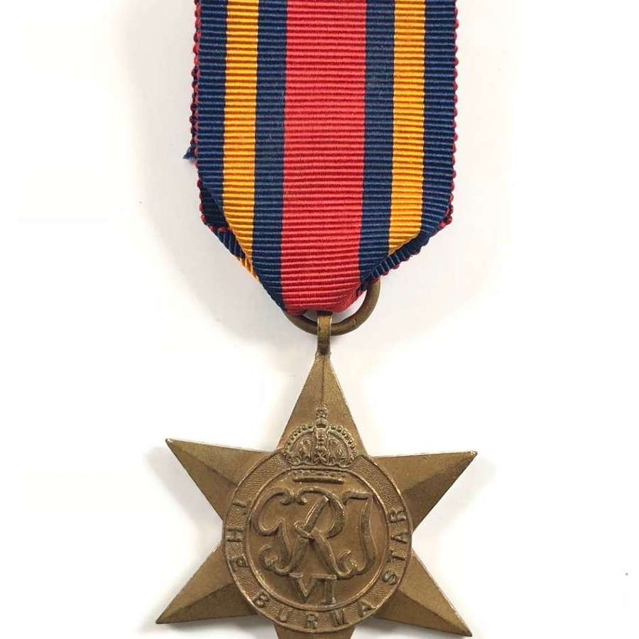 WW2 Royal Navy Army Royal Air Force Burma Star