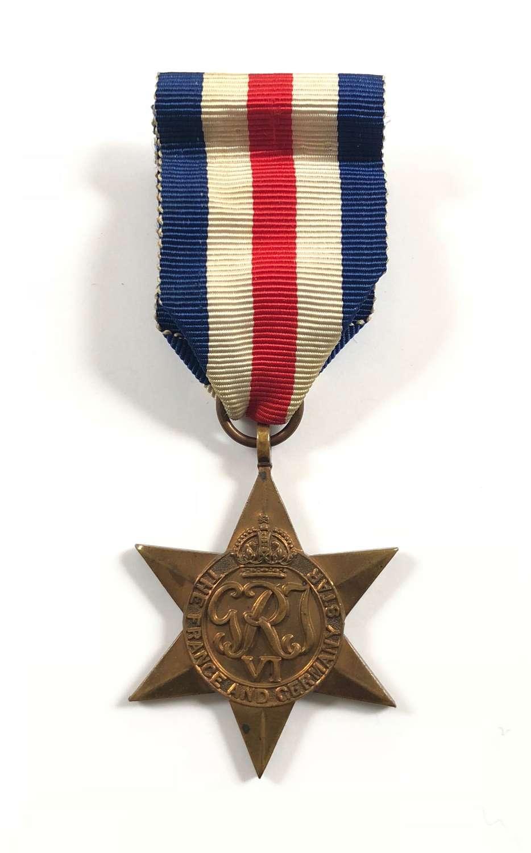 WW2 Royal Navy Army Royal Air Force France & Germany Star
