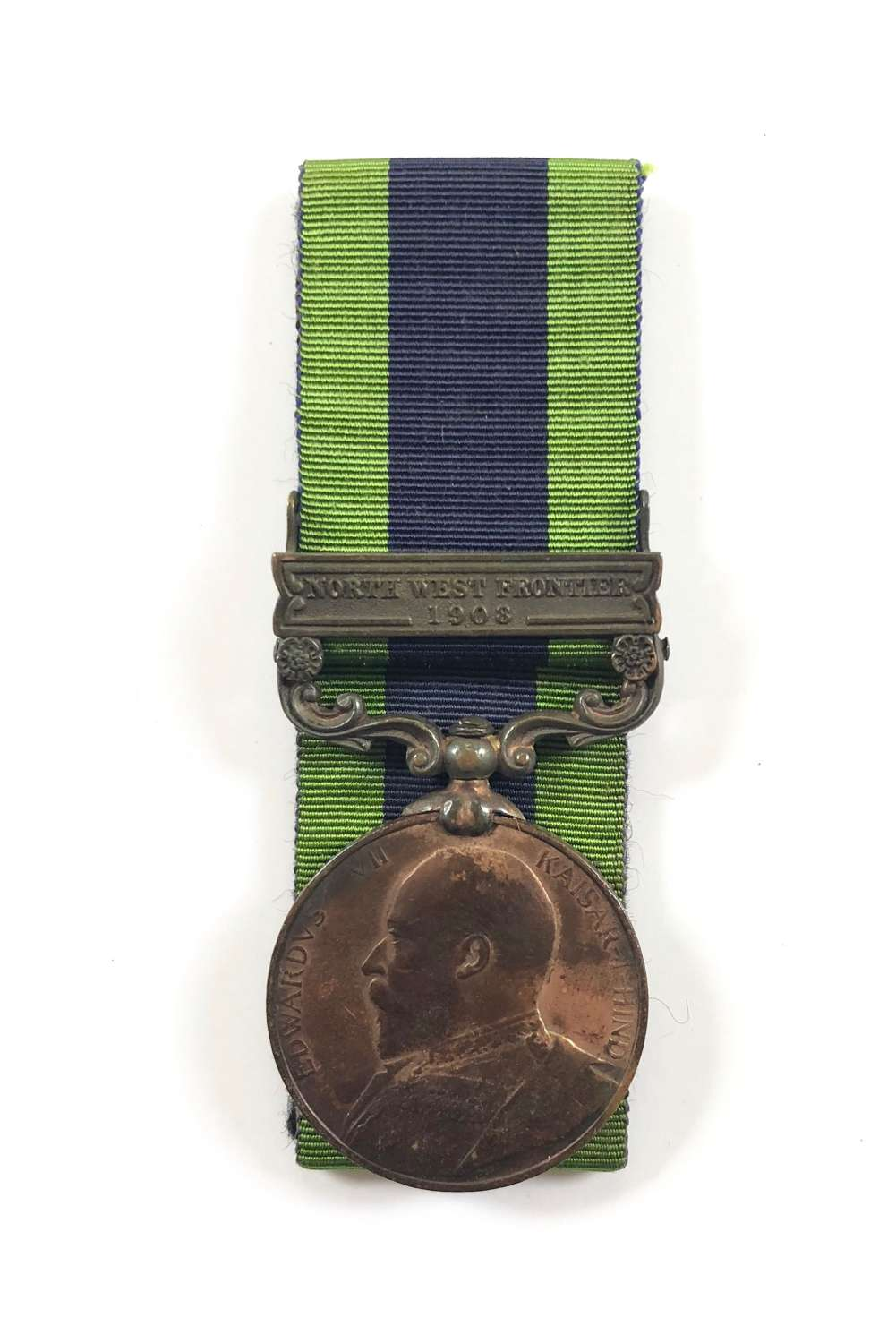 Army Bearer Corps Edward VII bronze India General Service Medal