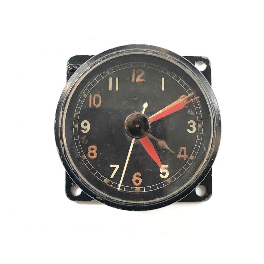 WW2 RAF Cockpit Clock MKIIA