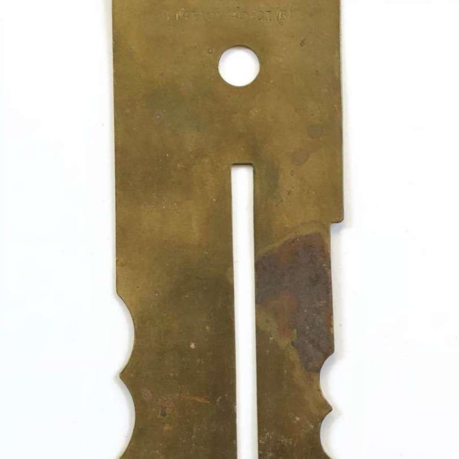 WW2 RAF Brass Buttonstick.