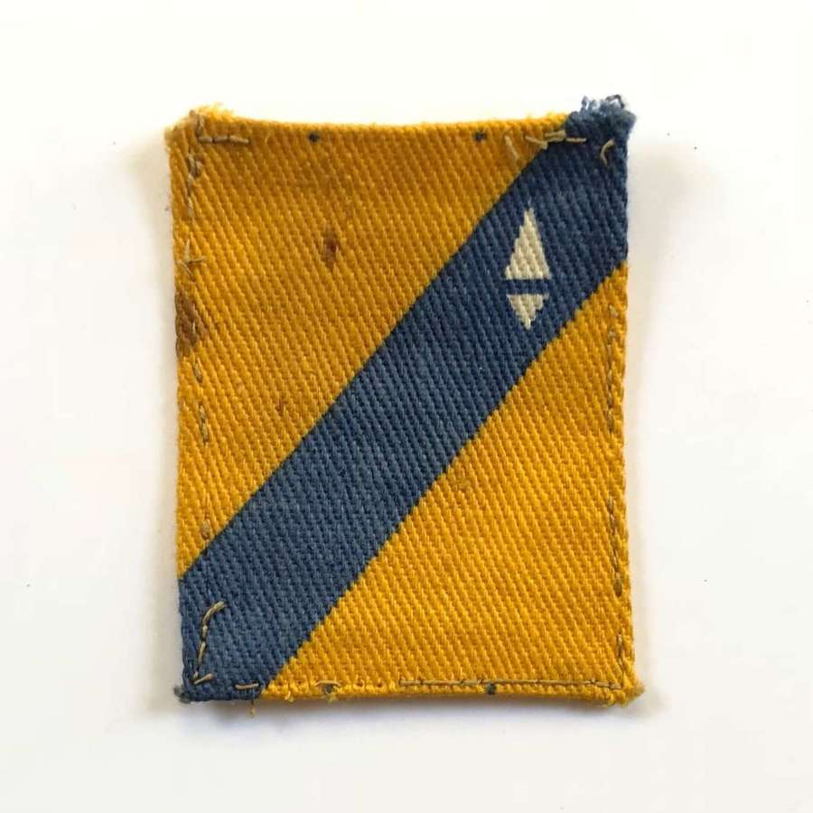 British Army Cannel Zone North District Printed Badge.